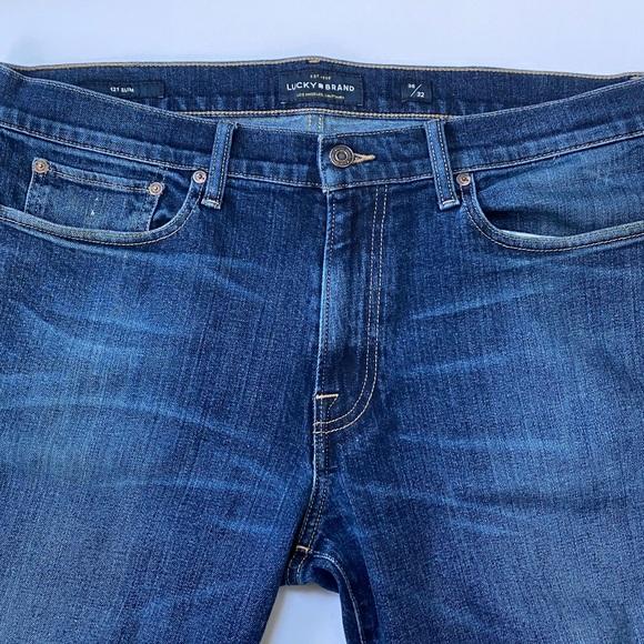 Men's Lucky Brand 121 slim jeans